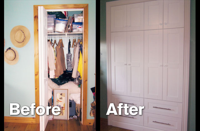 Charmant Closet Renovation